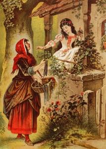 Blancanieves (Ilustración de Carl Offterdinger)