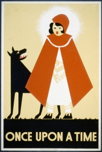 Caperucita Roja (Póster norteamericano de 1939)
