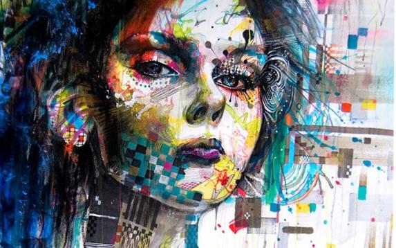 El rostro del arte y la creatividad (http://www.bancodeimagenesgratis.com)