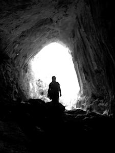 Una cueva...