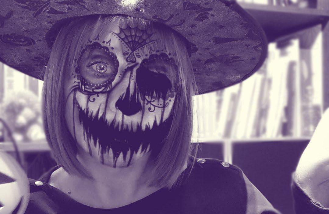 Verónica García-Peña Halloween